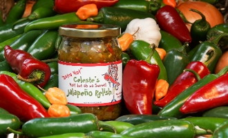 Hot but Sweet Jalapeno Relish EXTRA HOT