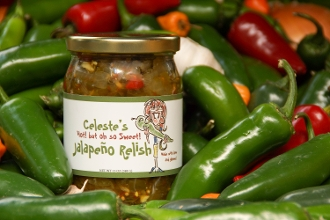 Hot but Sweet Jalapeno Relish